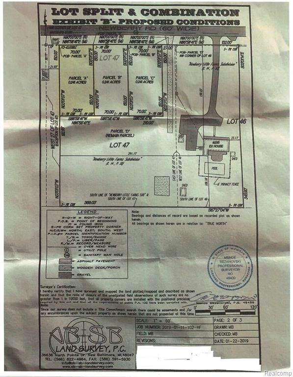 Parcel A Newberry, Waterford Twp, MI 48329 (#2200024867) :: RE/MAX Nexus