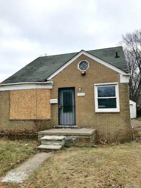 20274 Burgess, Detroit, MI 48219 (#2200024888) :: Springview Realty