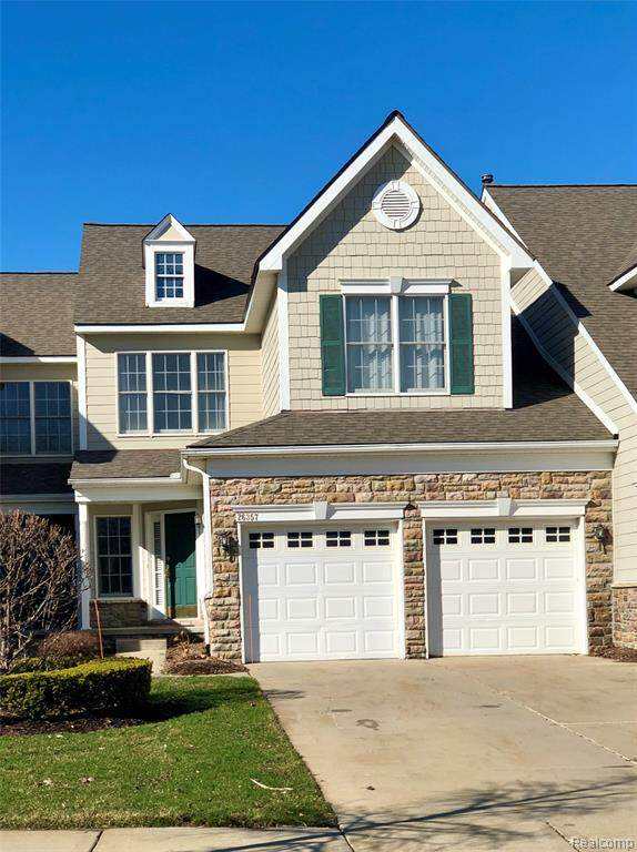 26357 Fieldstone Drive, Novi, MI 48374 (#2200024932) :: GK Real Estate Team