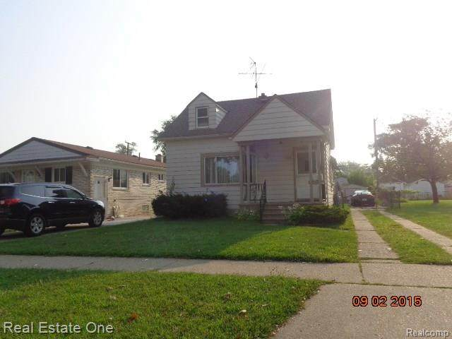 5714 Colonial Street, Dearborn Heights, MI 48127 (#2200024951) :: Alan Brown Group