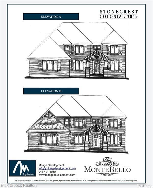 22423 Montebello Court, Novi, MI 48375 (#2200024987) :: GK Real Estate Team