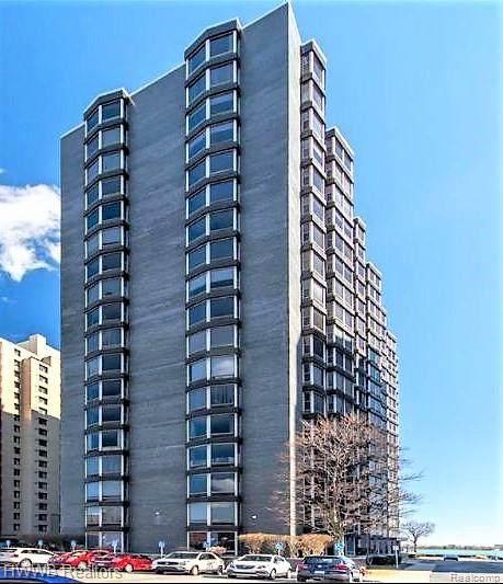 8200 E Jefferson Avenue #704, Detroit, MI 48214 (#2200025071) :: Alan Brown Group