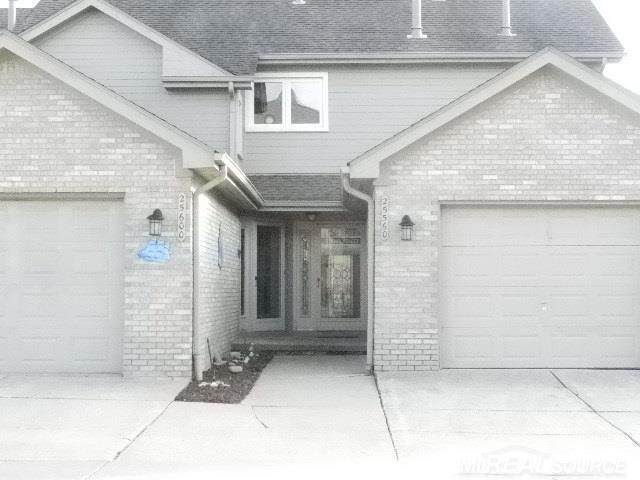 25560 Waterview Unit 7, Bldg 2, Harrison Twp, MI 48045 (#58050009308) :: Springview Realty