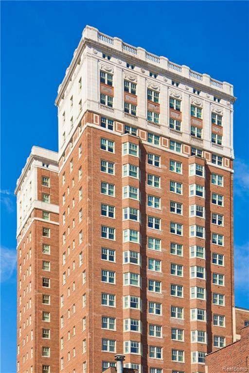 525 W Lafayette Boulevard 21B, Detroit, MI 48226 (MLS #2200025551) :: The John Wentworth Group