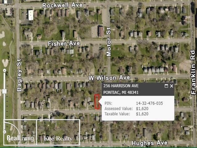 256 Harrison, Pontiac, MI 48341 (MLS #58050009441) :: The John Wentworth Group