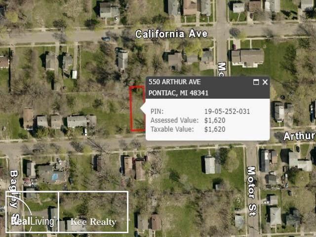 550 Arthur, Pontiac, MI 48341 (MLS #58050009460) :: The Toth Team