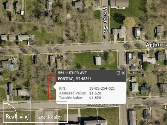 554 Luther, Pontiac, MI 48341 (#58050009464) :: The Alex Nugent Team | Real Estate One
