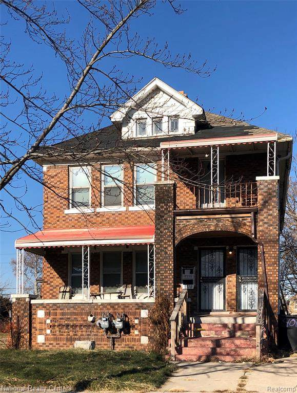 4016 Clements Street, Detroit, MI 48238 (MLS #2200027134) :: The Toth Team