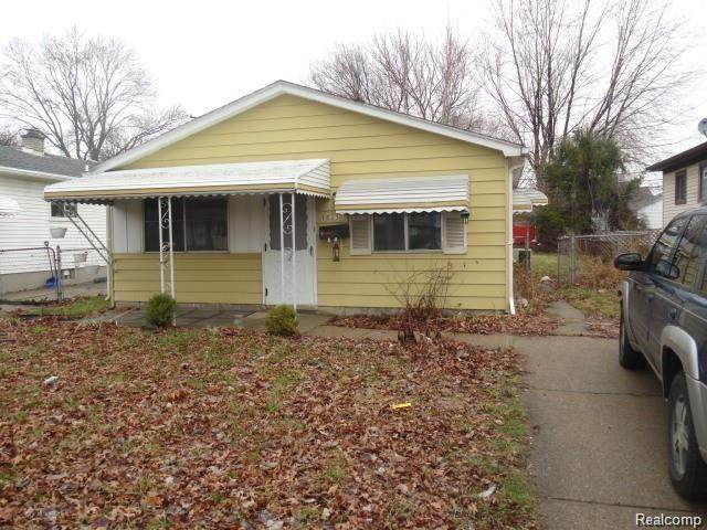 1523 E George Avenue, Hazel Park, MI 48030 (MLS #2200029402) :: The Toth Team