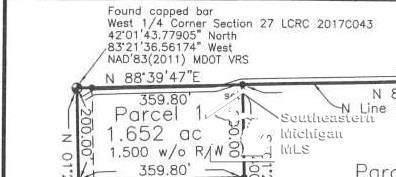 0 Calkins Rd, Ash Twp, MI 48117 (#57050011793) :: Alan Brown Group
