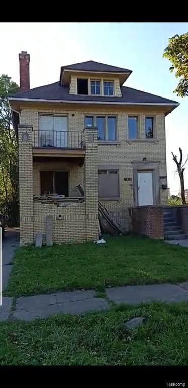 2517 Taylor Street, Detroit, MI 48206 (#2200035358) :: BestMichiganHouses.com