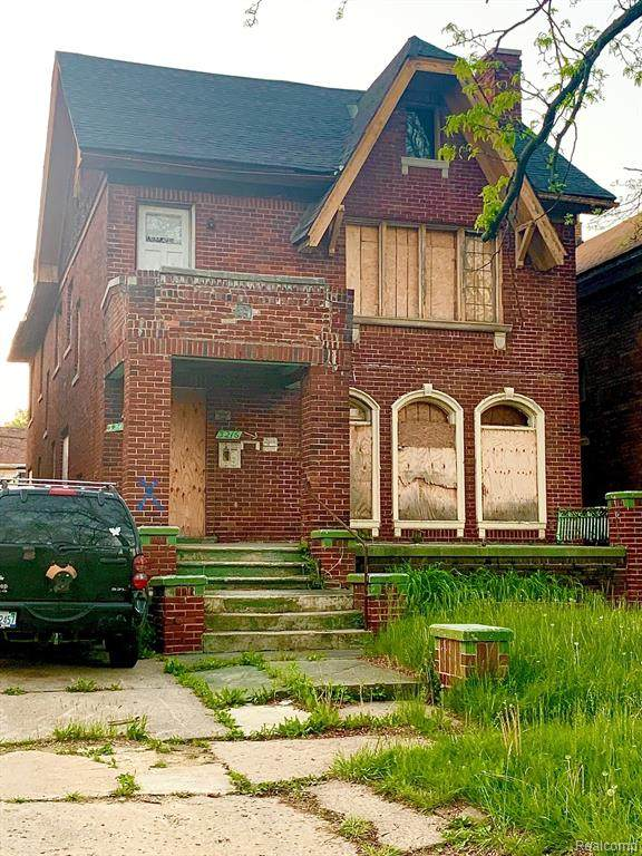 3216 Fullerton Street, Detroit, MI 48238 (MLS #2200037160) :: The Toth Team
