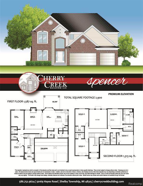 54822 Deadwood Lane, Shelby Twp, MI 48316 (#2200038337) :: Novak & Associates