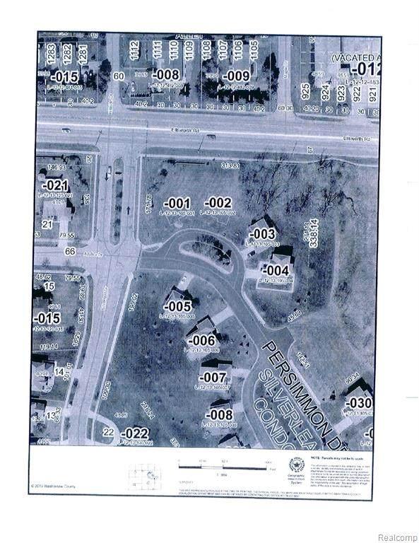 4025 Persimmon Drive, Pittsfield Twp, MI 48197 (MLS #2200040652) :: The Toth Team