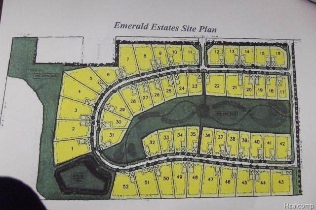 LOT-11 Emerald Valley Loop, Handy Twp, MI 48836 (#2200046786) :: The Mulvihill Group