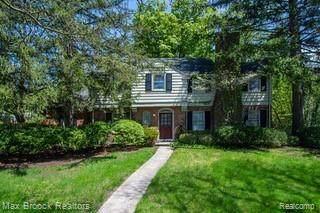 878 Fairfax Street, Birmingham, MI 48009 (#2200050674) :: The Alex Nugent Team | Real Estate One