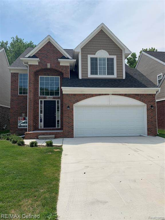 13814 Grandeur Avenue, Shelby Twp, MI 48315 (#2200053479) :: RE/MAX Nexus