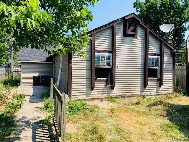 120 W Colgate Avenue, Pontiac, MI 48340 (#2200054686) :: Duneske Real Estate Advisors