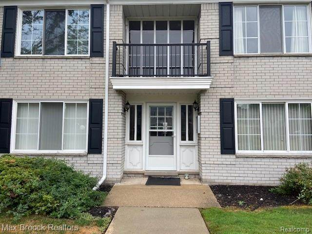 100 W Hickory Grove Rd Apt F3 F3, Bloomfield Twp, MI 48304 (#2200055147) :: Keller Williams West Bloomfield
