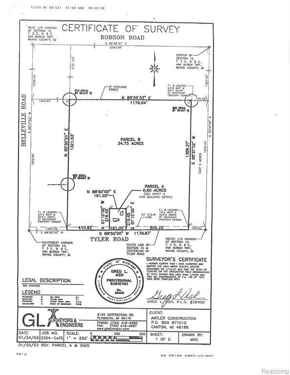 44804 Tyler Road, Van Buren Twp, MI 48111 (MLS #2200058432) :: The John Wentworth Group