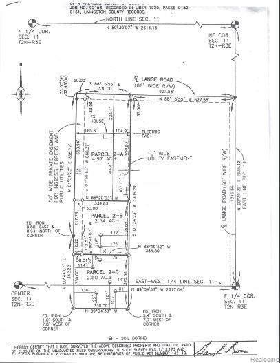 7117 Lange, Iosco Twp, MI 48836 (#2200059864) :: Novak & Associates