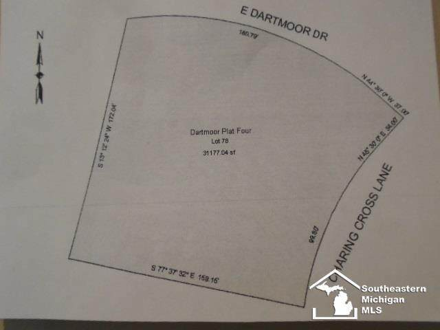 E Dartmoor, Monroe Twp, MI 48161 (#57050018945) :: Novak & Associates