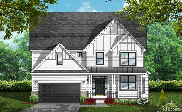 55571 Sunningdale Drive, Lyon Twp, MI 48178 (MLS #2200060498) :: The Toth Team