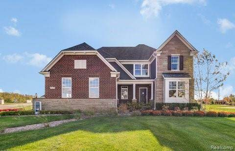 51655 Turnburry Drive, Lyon Twp, MI 48178 (MLS #2200060707) :: The Toth Team
