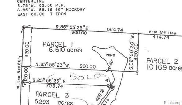 0000 S Lapeer Road, Lapeer Twp, MI 48446 (#2200061532) :: The Alex Nugent Team | Real Estate One