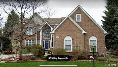 539 Bay Pointe Drive, Oxford Vlg, MI 48371 (#2200062627) :: The Alex Nugent Team | Real Estate One