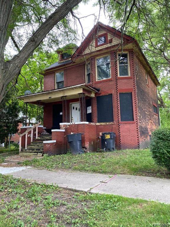 1747 Canton Street, Detroit, MI 48207 (MLS #2200064115) :: The Toth Team
