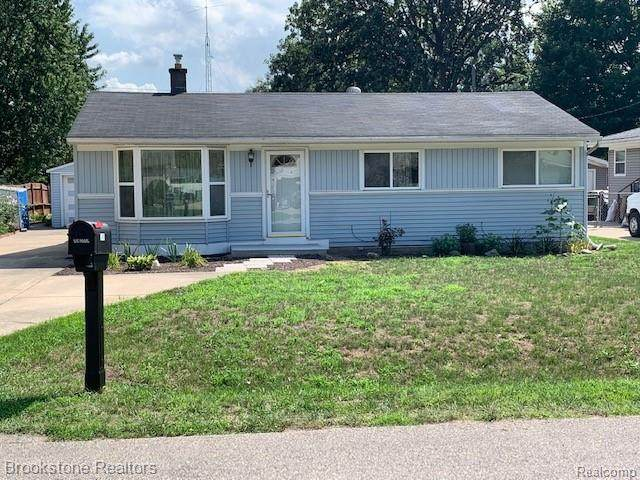 2496 Lee Avenue, Shelby Twp, MI 48317 (#2200064271) :: The Alex Nugent Team   Real Estate One