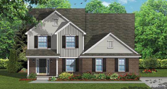 21483 Hasenclever Drive, Lyon Twp, MI 48178 (MLS #2200064820) :: The Toth Team