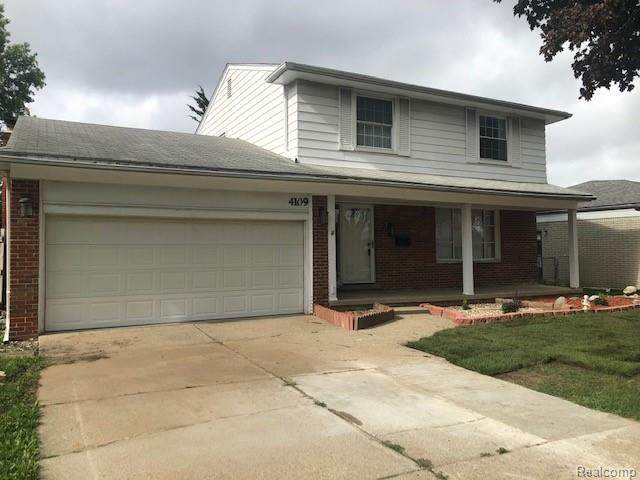 4109 Anthony Drive, Sterling Heights, MI 48310 (#2200067354) :: The Mulvihill Group