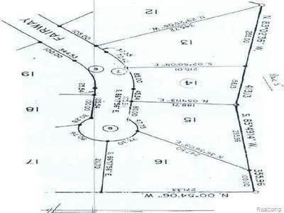 Lot 14 Fairway Drive, Standish Twp, MI 48658 (#2200069551) :: The Merrie Johnson Team
