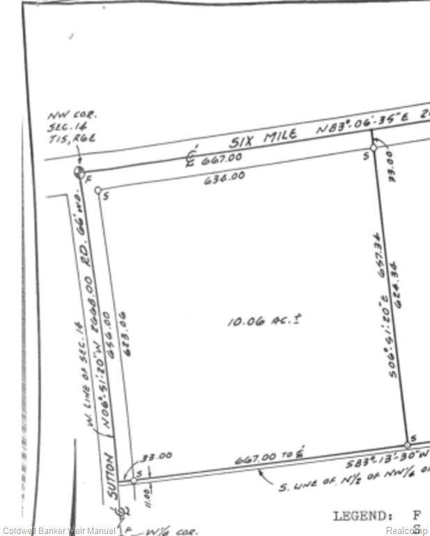 000 Sutton Rd, Northfield Twp, MI 48178 (#2200072998) :: The BK Agency