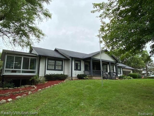 485 Elk Lake Road, Attica Twp, MI 48412 (#2200074279) :: BestMichiganHouses.com