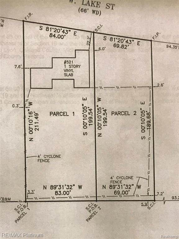 Parcel 2 W Lake Street, South Lyon, MI 48178 (#2200075827) :: The Mulvihill Group