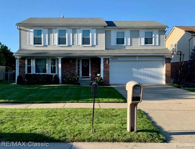 44506 Forest Trail Drive, Canton Twp, MI 48187 (#2200076903) :: The BK Agency