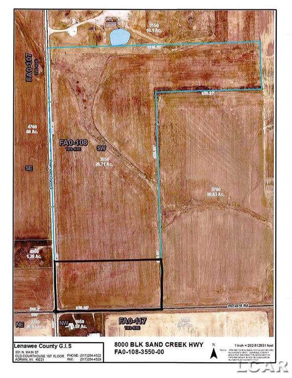 8000 Sand Creek, Fairfield Twp, MI 49279 (#56050023962) :: Novak & Associates