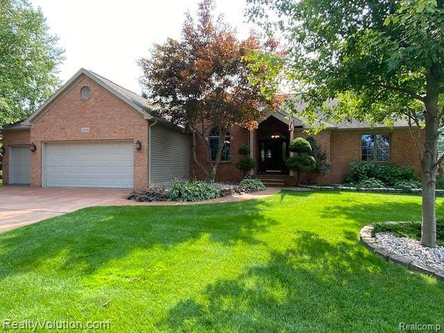 3744 Wedgewood Drive, Elba Twp, MI 48446 (#2200077128) :: Keller Williams West Bloomfield