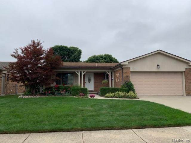15434 Frederick Drive, Clinton Twp, MI 48038 (#2200077368) :: The BK Agency