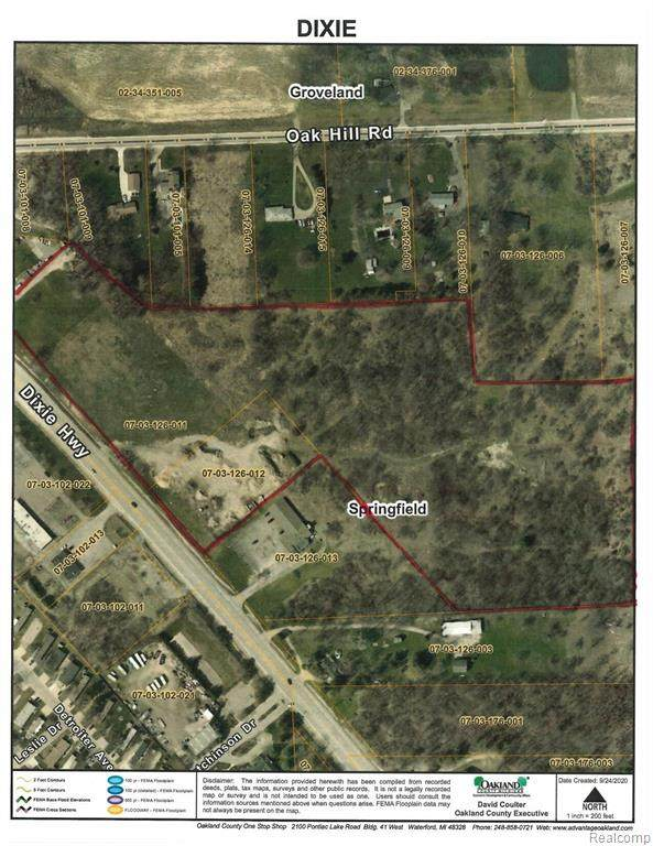 6485 Dixie Hwy. Dixie Hwy, Springfield Twp, MI 48350 (#2200079606) :: The Mulvihill Group