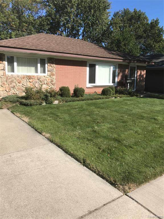 1157 E Barrett Avenue, Madison Heights, MI 48071 (#2200083861) :: Alan Brown Group