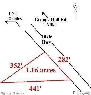 15312 Dixie Hwy, Groveland Twp, MI 48442 (#2200084079) :: The BK Agency