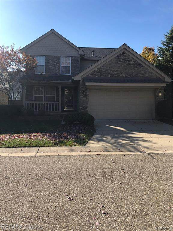 3932 Bruton Avenue, Canton Twp, MI 48188 (MLS #2200085172) :: The John Wentworth Group