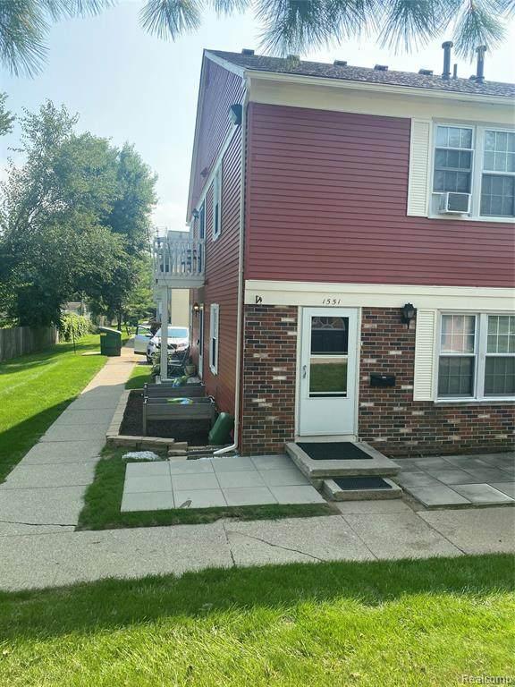 1551 Wingate Boulevard, Ypsilanti Twp, MI 48198 (#2200086106) :: RE/MAX Nexus