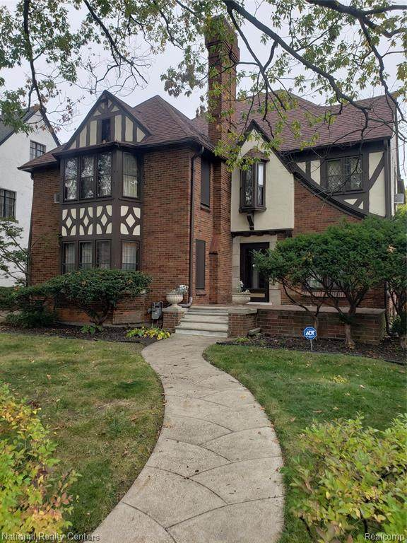 17415 Parkside Street, Detroit, MI 48221 (#2200086221) :: The BK Agency