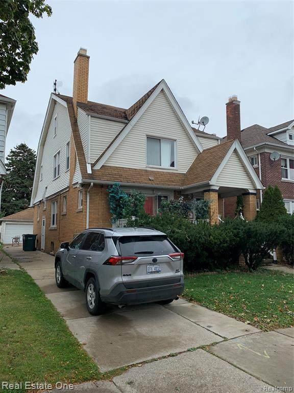 7107 Appoline Street, Dearborn, MI 48126 (MLS #2200087004) :: The John Wentworth Group