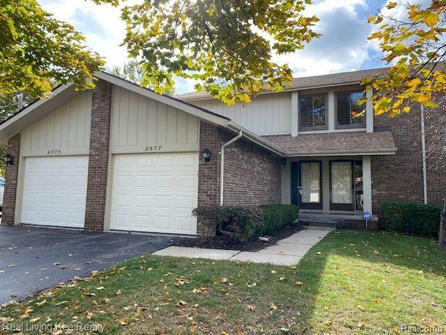 2877 Trailwood Drive, Rochester Hills, MI 48309 (#2200087339) :: Alan Brown Group